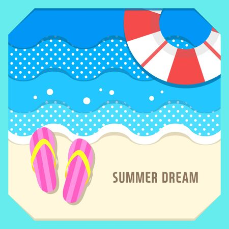 illust: Summer travel illustration Illustration
