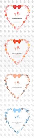 flower heart: flower heart shape chaplet templet