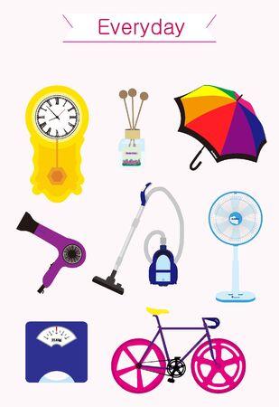 alarmclock: Daily product icon set