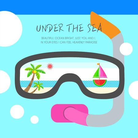 vacance: illustrazione di estate
