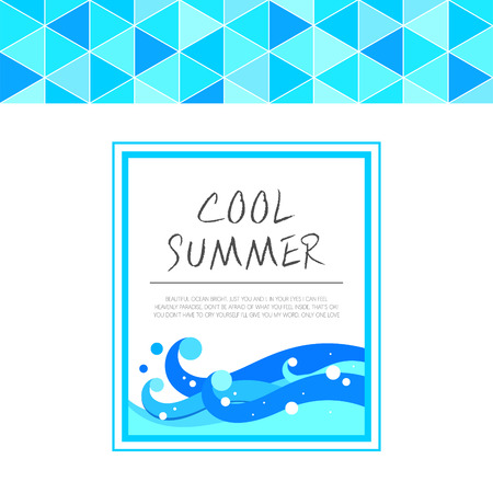 vacance: summer illustration