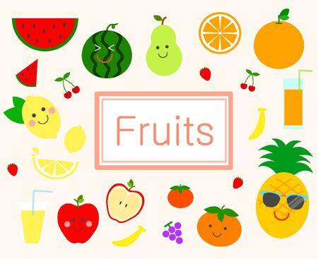 illust: Fruit icon package
