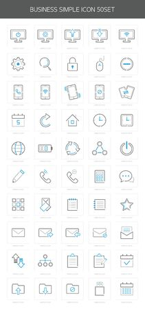 business icon package Vector