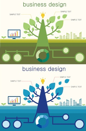 power point: Bild illustrationbusiness Baum Illustration