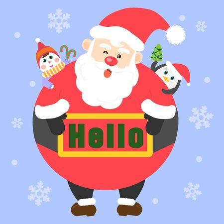 prank: Greetings to Santa Claus templet