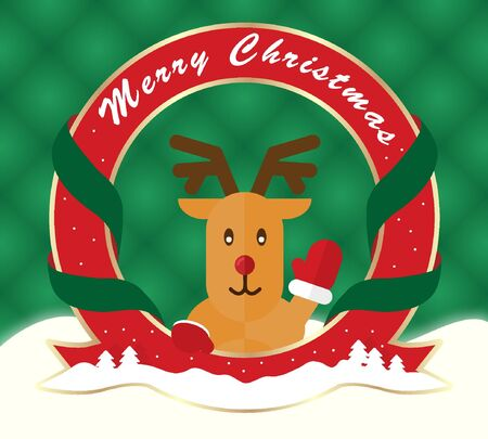 rudolph: Greetings to rudolph templet