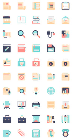 flat icon business icons 1 Vector