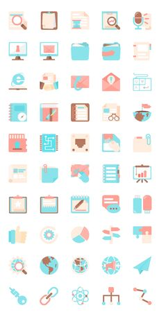 flat icon business icons 2