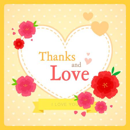 illust: greeting card image Illustration