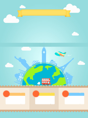 historic world event: Overseas Travel events template