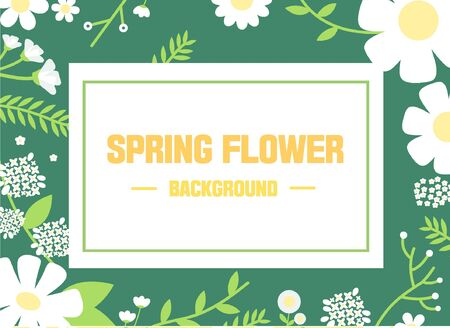 illust: background spring flower image
