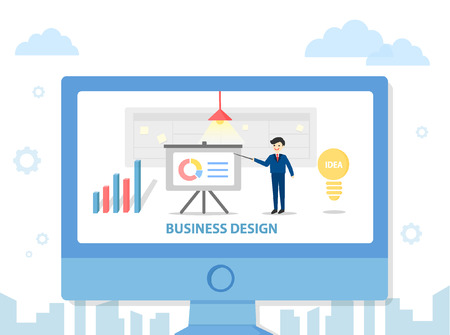 illust: business event template