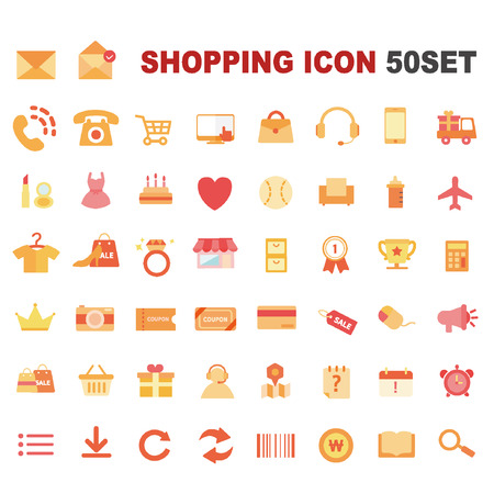 pring: shopping icon package
