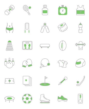 tennisball: vector illustration of fitness and health icon package