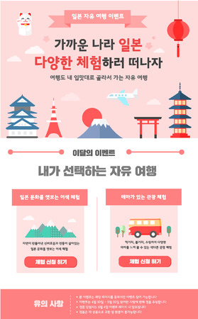 travel event template