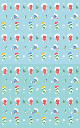illust: pattern of the christmas sock Illustration