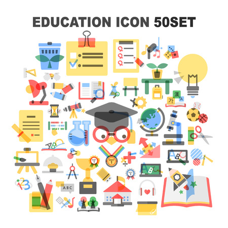 education icon package Illustration