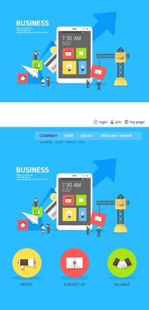 web template: business web template