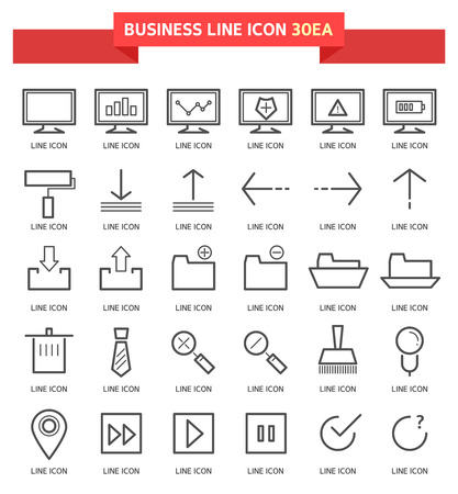 groupware: business icon set