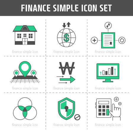 goldbar: Finance Simple Icon Set