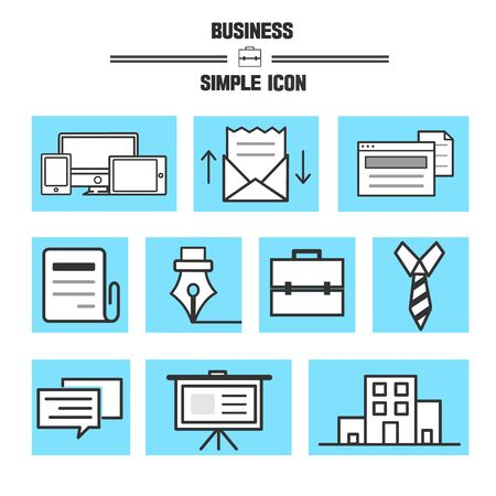 backstop: Business Simple Icon Set