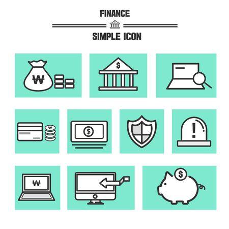 backstop: Finance Simple Icon Set