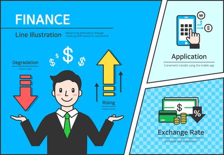 credit card business woman: Finance Illustration