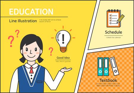 Education Illustration Ilustração