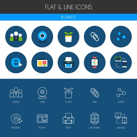 icons business: business icon set