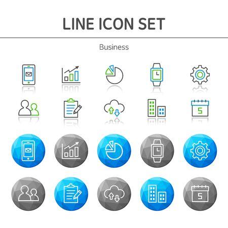 groupware: L�nea de negocio conjunto Icono