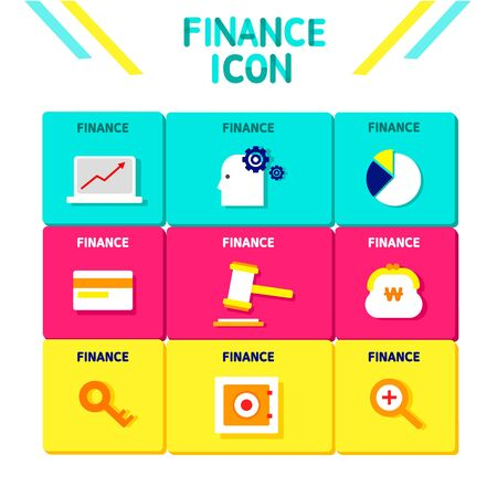 backstop: Finance Flat Icon Set