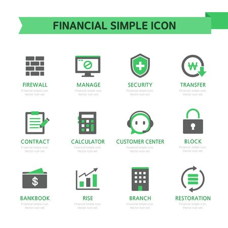 fire icon: financial Simple Icon Set