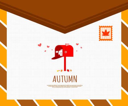 glasse: Autumn Illustration