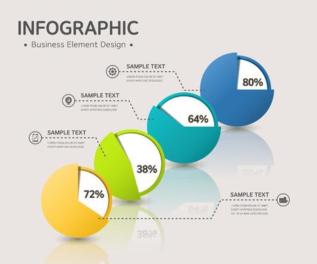 sobresalir: infograf�a negocio
