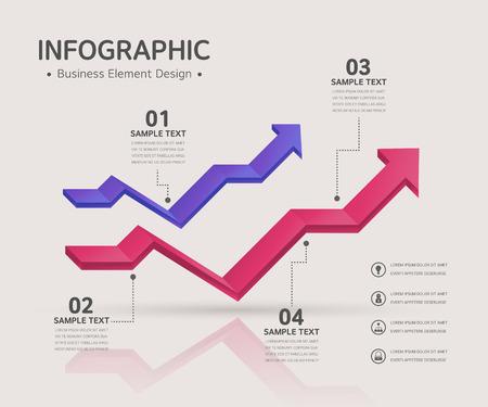 business infographic Illustration