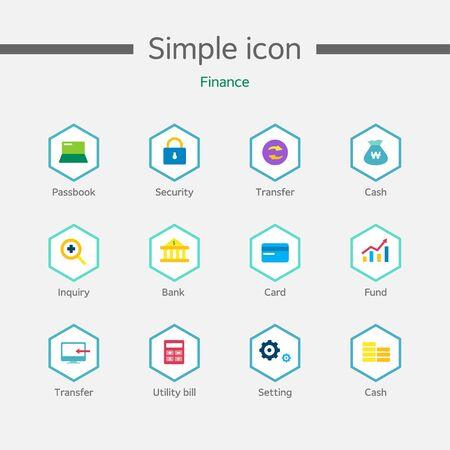 backstop: Banking Simple Icon Set
