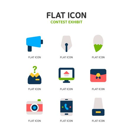 guidance: Contest Exhibit Icon Set