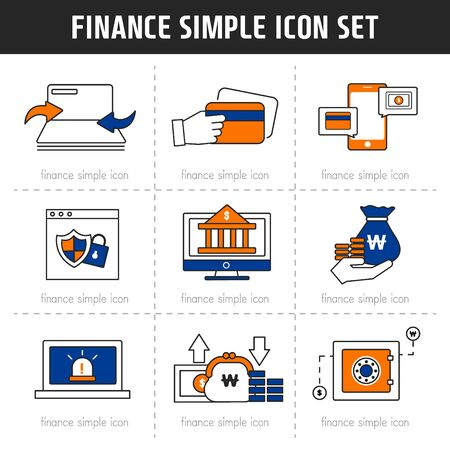backstop: Banking Simple Icon Set