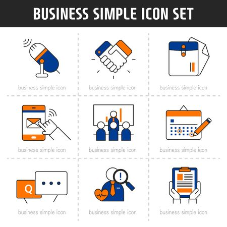 circumstance: Business Simple Icon Set