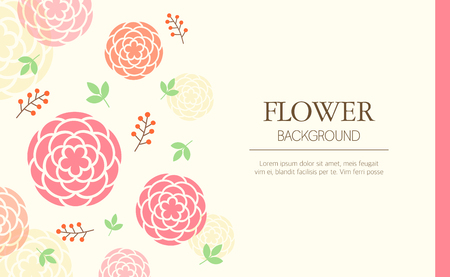 sensitivity: flower illustration Illustration
