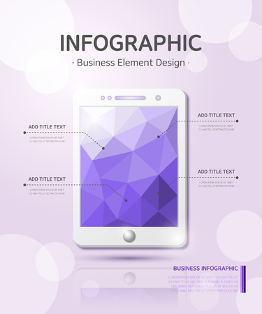 business infographic Illustration