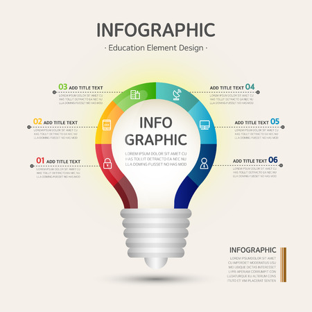 excel: education infographic