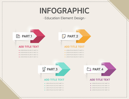 ppt: education infographic