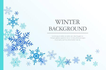 Winter Hintergrund Illustration
