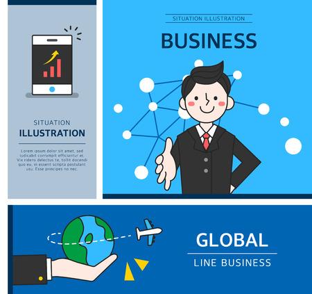 practical: business illustration