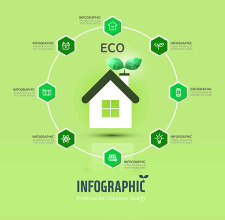 excel: eco infographic