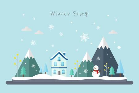 illust: winter illustration