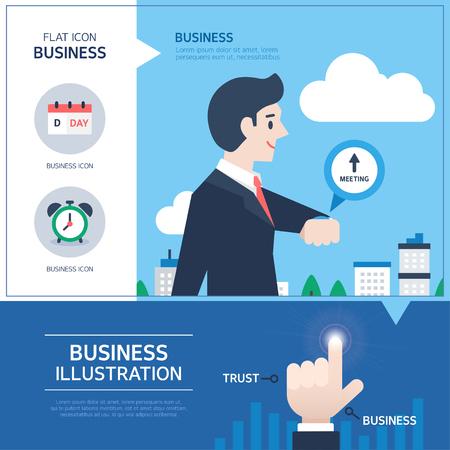human source: Business Gesture Illustration