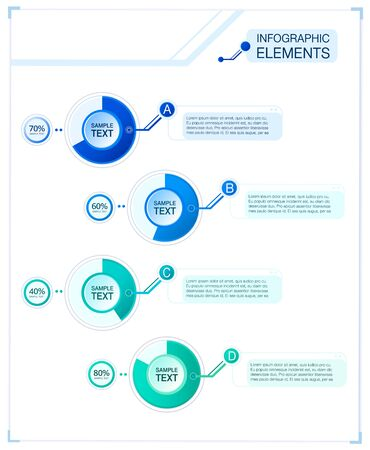 photoshop: Business Info graphic