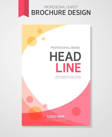 Business Brochure Illustration Ilustração